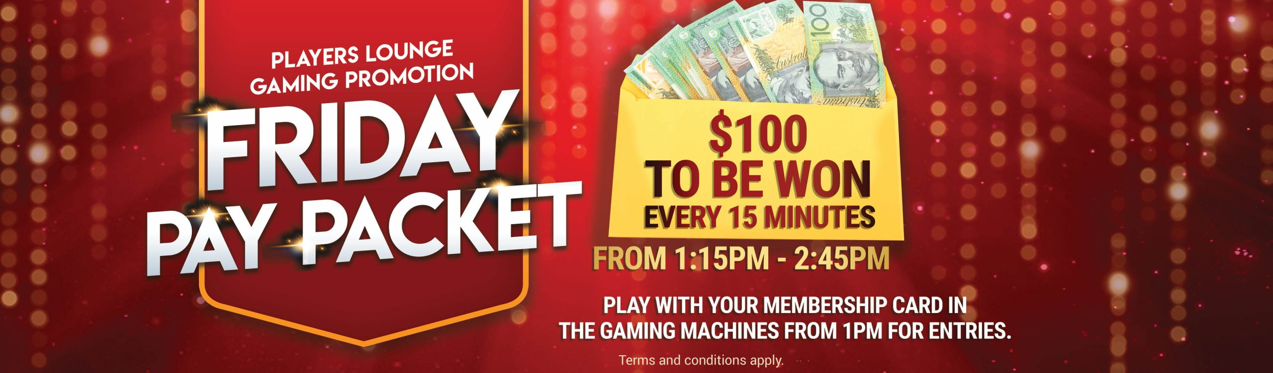 Friday Pay Packet Gaming Promotion