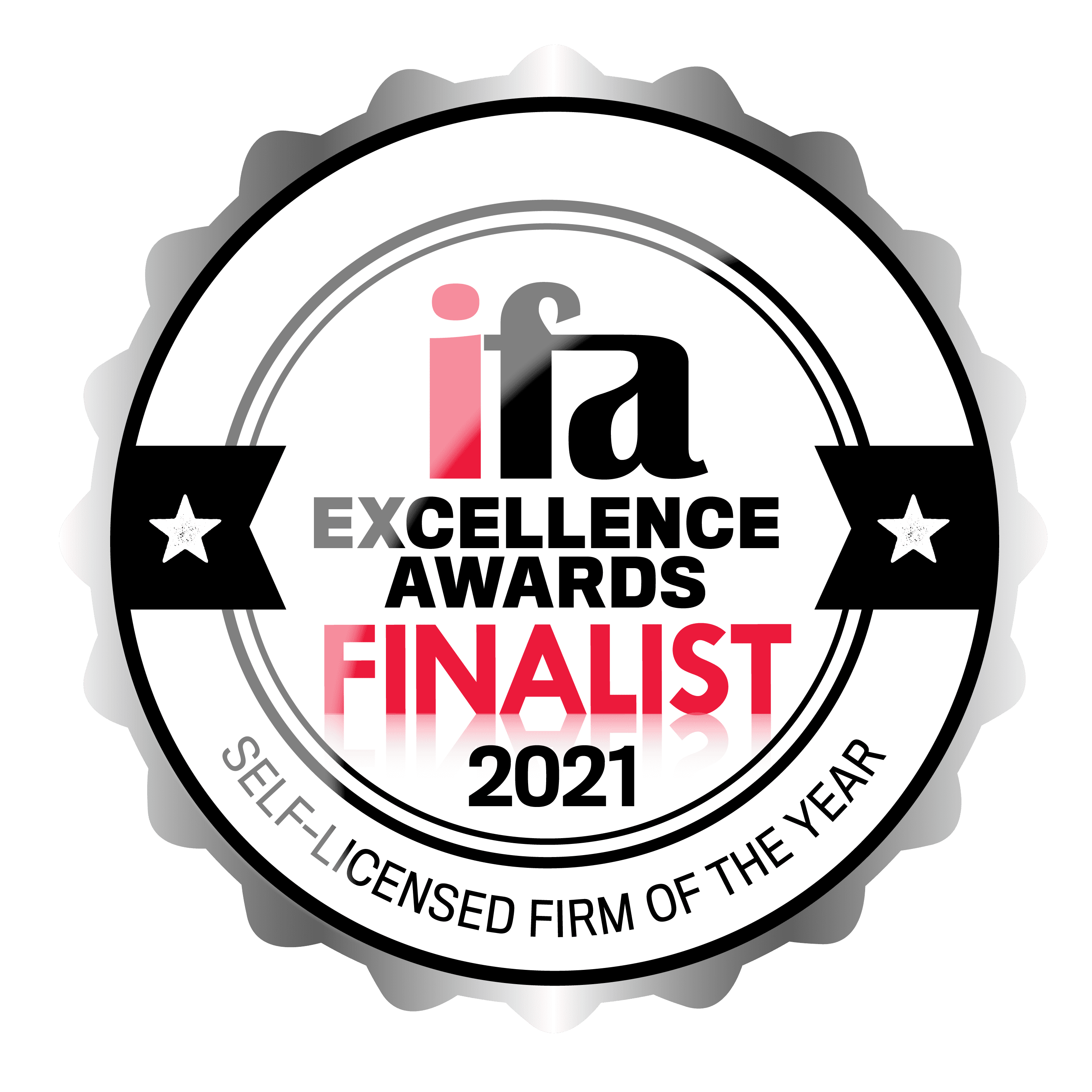 ifa Excellence Awards Finalist - Self-Licensed Firm of the Year 2021