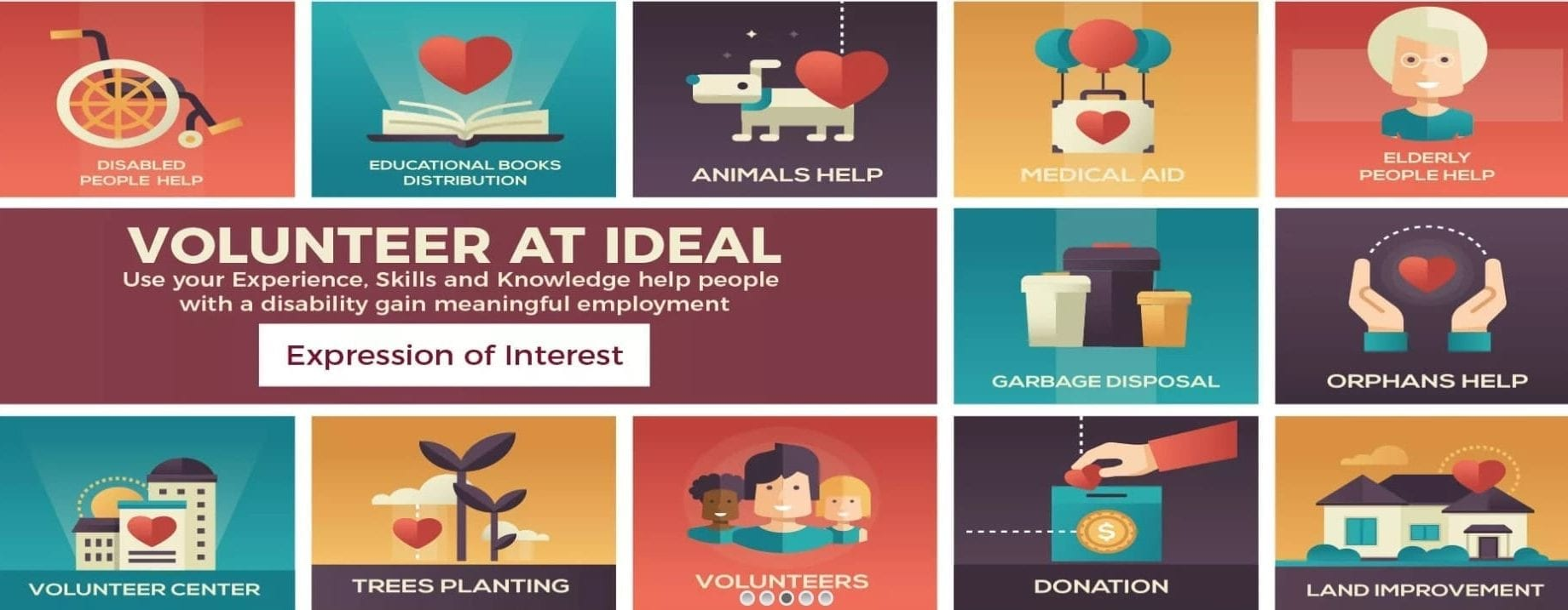 Volunteer at IDEAL Placements